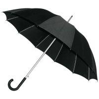"""12 Panel Regenschirm ,,Black Rainbow""""  Werbeartikel"""