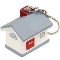 """Anti-Stress-Haus-Schlüsselanhänger ,,Wunderhaus"""" Werbeartikel"""