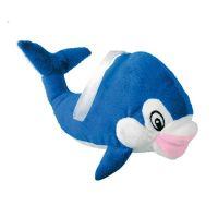 "Blaues Delphin-Maskottchen ,,Flippy"" Werbeartikel"