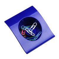 "Büroklammern-Behälter ,,Algernop"" in Blau Werbeartikel"