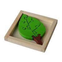 """Einfaches Puzzle ,,Anne"""" aus Holz  Werbeartikel"""