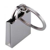 """Einkaufstaschen-Schlüsselanhänger ,,Shop Queen"""" in Silber Werbeartikel"""