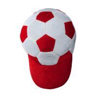 Fanartikel Mütze weiß-rot Werbeartikel
