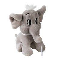 """Graues Elefanten-Maskottchen ,,Elfenbein"""" Werbeartikel"""