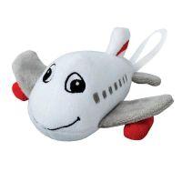 """Grinsendes Flugzeug-Maskottchen ,,Archer"""" Werbeartikel"""
