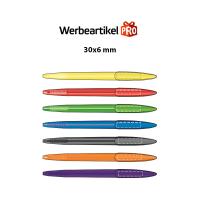 """Herrlicher Kugelschreiber """"Manuel"""" aus Kunststoff in 9 Farben Werbeartikel"""