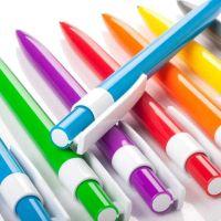 """Hinreißender Kugelschreiber """"Rafael"""" aus Kunststoff in 8 Farben Werbeartikel"""