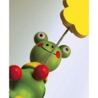 """Niedlicher Memo-Clip ,,Crazy Frog"""" in Grün"""