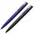"""Kugelschreiber ,,Bender"""" aus Aluminium Blau und Schwarz"""