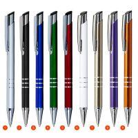"Kugelschreiber ,,Linda"" aus Aluminium in 15 Farben  Werbeartikel"