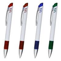 "Kugelschreiber ,,Michael"" aus Kunststoff in 4 Farbkombinationen Werbeartikel"