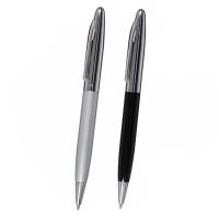 """Kugelschreiber ,,Ryan"""" aus Aluminium in Schwarz oder Silber Werbeartikel"""