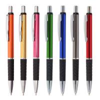 "Kugelschreiber ,,Stripes"" aus Aluminium in 12 Farben Werbeartikel"