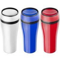 Kunststoff Thermobecher in 3 Farben Werbeartikel