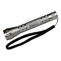 """LED-Taschenlampe ,,Hämatit"""" in Silber Werbeartikel"""