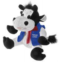"""Liebliches Kuh-Maskottchen ,,Berta"""" Werbeartikel"""