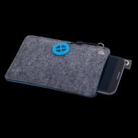 """Modische Tasche für Smartphones ,,Aqua"""" in 2 Farben Werbeartikel"""