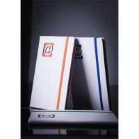Notizbuch 90x140 schwarz Werbeartikel