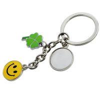 Schlüsselanhänger Glücksbringer Metall  Werbeartikel