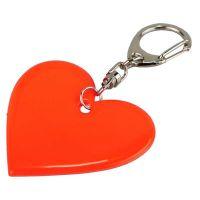 """Schlüsselanhänger ,,Shiny Love"""" in Hellrot Werbeartikel"""