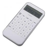"""Simpler Taschenrechner ,,Numberious"""" in Weiß Werbeartikel"""