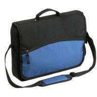 """Tasche ,,Deauxma"""" aus Polyester in schwarz-blau  Werbeartikel"""