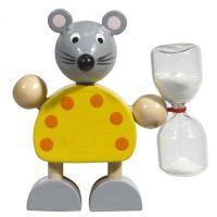 """Zahnputz-Set ,,Minnie"""" in Gelb für Kinder  Werbeartikel"""